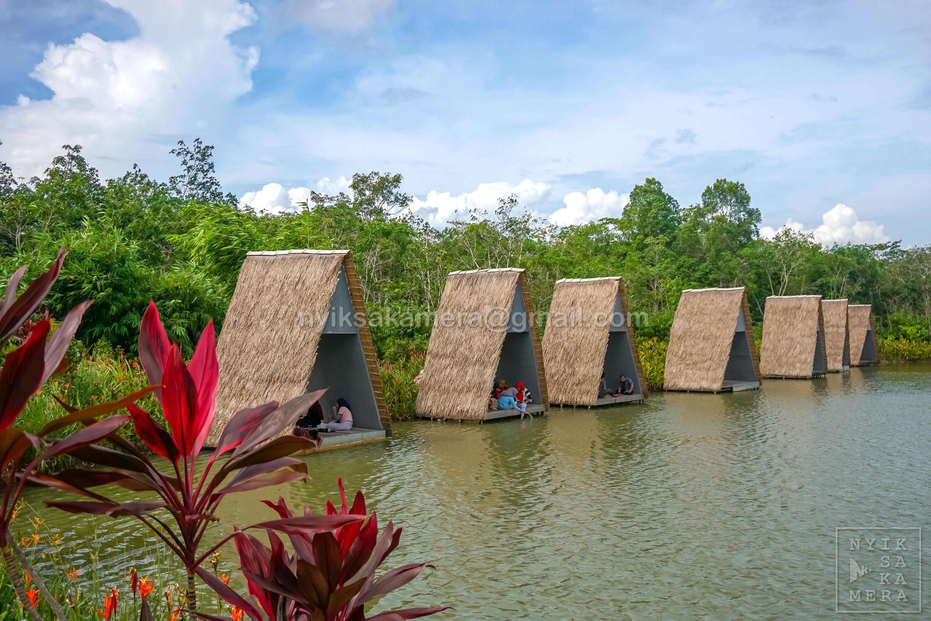 Berakhir Pekan Di Desa Wisata Ekang Yang Hijau Part I